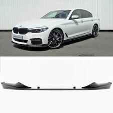 BMW 5 Series G30 18- Front Black Matte Front Spoiler Splitter Lip M Performance