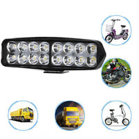 Motorcycle 16LED Spot Light ATV Truck Scooter Off Road Driving Headlight Lamp