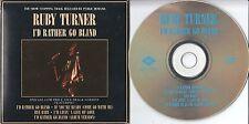 Ruby Turner CD-SINGLE I'D RATHER GO BLIND (c) 1986  CARDSLEEVE