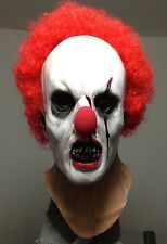 Zombie Clown mask Creepy Horror Scary Halloween Mask Vampire Jason Freddy Myers