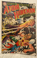 DC Atom and Hawkman #42 Joe Kubert Cover 1969 Clean And Well Kept