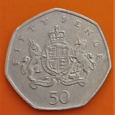 50p Fifty Pence coin 2013 - Christopher Ironside, Designer UK 1st Decimal Coins