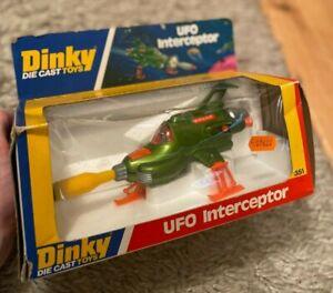 Dinky Toys No 351 UFO Interceptor - Original Boxed