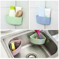 Plastic Kitchen Sink Dish Drainer Cutlery Plate Cup Holder Rack Draining Ti S6V1
