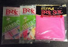 The Original Book Sox Stretchable Fabric Book Cover - Jumbo Asst 3 PACKS!!!