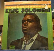 "Solomon Burke ""King Solomon"" Soul Funk LP Atlantic Stereo NM in Shrink 1st press"