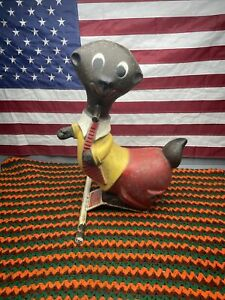American Playground Vtg Spring Ride On Bouncy Toy Weasel North Country Critter