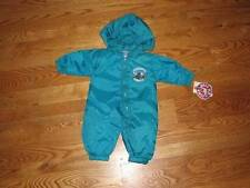 NEW Charlotte Hornets Windsuit Coverall Baby Size 6/9M 6/9 Mo Boys Girls Romper
