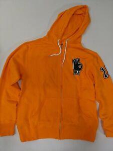 Size Adult Medium - John Cena Orange Zipper WWE Hoody Sweatshirt