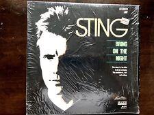 Sting Bring on the Night Laserdisc