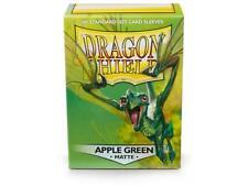 Dragon Shield Standard Size Card matte Sleeves Apple Green Magic Pokemon 100 box