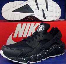 Womens Nike Air Huarache Run iD Black White SZ 6.5 ( 777331-994 )