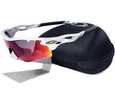 21afa1f2d9 Oakley Custom RADARLOCK PATH VENTED Silver Positive Red Iridium Mens  Sunglasses