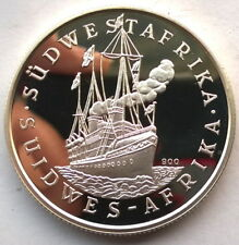Namibia 1988 100th Anniversary of German Conoly 1oz Silver Coin,Proof,Rare!