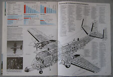 Warplane magazine Issue 97 Grumman OV-1 Mohawk Cutaway drawing & poster