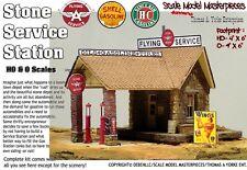 Shell Oil Service Station Kit Thomas Yorke/ Scale SMM93  HOn3 Fine Craftsman