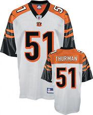 Odell Thurman Cincinnati Bengals Replica Jersey Reebok NWT medium NFL Who Dey