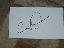 Candi Kung LPGA Signed 3x5 Index Card