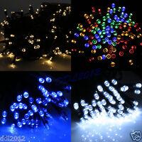100 200 LED Solar Fairy Lights String Christmas Garden Outdoor Tree Party Light