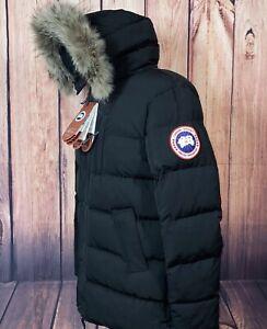 CANADA GOOSE Herren Echtfell Winterjacke Designer Restposten B-Ware Gr. XL
