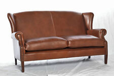 Leather Solid Pattern Modern Double Sofas