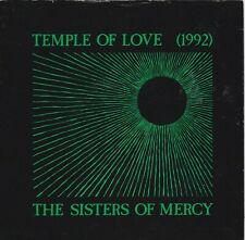 "THE SISTERS OF MERCY- TEMPLE OF LOVE 7"" + ALICE 7"" records joy division bauhaus"
