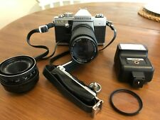 Praktica Super TL3 35mm Camera with accessories