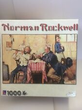 "1000 Piece Norman Rockwell "" The Love Song"" Puzzle"