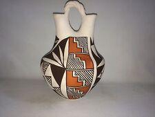 Acoma Wedding Vase Rose Leno