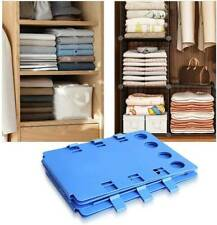 Clothes Folder Folding Board Laundry Organizer Adult T Shirt Fast Fold Flip US