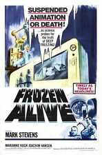 Frozen Alive Poster 01 Metal Sign A4 12x8 Aluminium