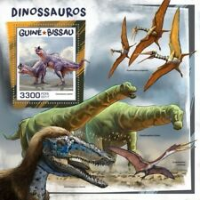 GUINEA-BISSAU Dinosaurs s/s  S2017-12