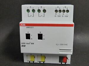 ABB EIB KNX Lichtregler / Schalt-/Dimmaktor 1-10V 2fach mit Handbed. LR/S 2.2.1