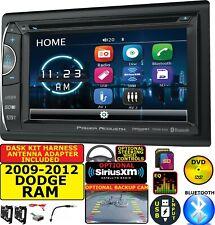 2009-2012 DODGE RAM TRUCK CD/DVD BLUETOOTH USB SD OPT. SIRIUSXM CAR RADIO STEREO