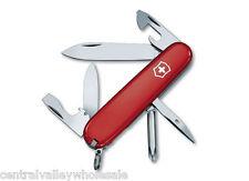 New Victorinox Swiss Army 91mm Knife  RED TINKER   Sold Bulk, No Box  1.4603