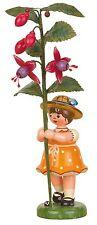 Hubrig Blumenkind Mädchen mit Fuchsie, 307h5001