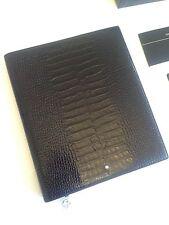 NEU MONTBLANC *MST* A5 Leder Mappe Notebook Notizbuch Kroko NP:995€ -972