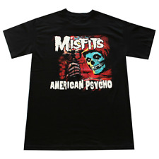 Vintage Misfits American Psycho Men'S T-Shirt Black All Size S-M-L-234Xl A1602