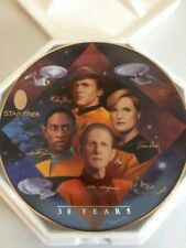 (3) Star Trek Hamilton Collection Plates