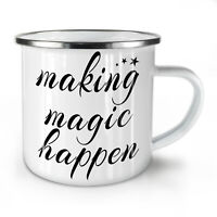 Making Happen NEW Enamel Tea Mug 10 oz | Wellcoda