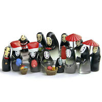 15 pcs Cute Anime Spirited Away No-Face Man Kaonashi Collection Spirit Figure