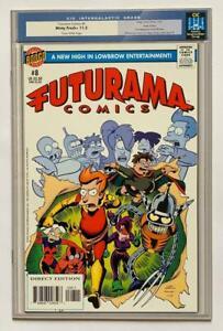 Futurama comics #8 (Bongo 2002) VF/NM condition.