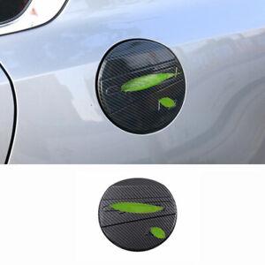Fit for Kia Forte/K3 2019-2021 Carbon Fiber Exterior Fuel Tank Cap Cover Trim