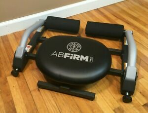 **GOLD'S GYM AB FIRM PRO ABDOMINAL EXERCISE MACHINE STEEL GYM PORTABLE