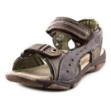 Sandales marron en cuir pour garçon de 2 à 16 ans
