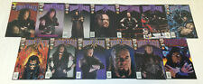 WWF/WWE UNDERTAKER comics #1-10 FULL SET + #0, Preview, Halloween Special