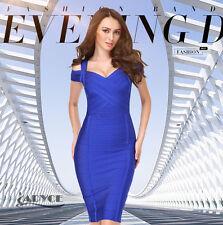 Summer Women Fashion Sleeveless Elegant Bodycon Bandage Knee Length Party Dress