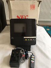 VINTAGE IN SCATOLA NEC MP1205 TELE VITTEL videoconferenza Sistema di TELEVISORI TV MOLTO RARO!!!
