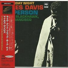 MILES DAVIS - SATURDAY NIGHT AT THE BLACKHAWK VOL.2 1997 JAPAN MINI LP CD