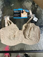 Bali Lace /'n Smooth Underwire Bra Womens Seamless Full Coverage Stretch Cup 3432